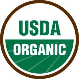 The USDA have two certification levels for organic products
