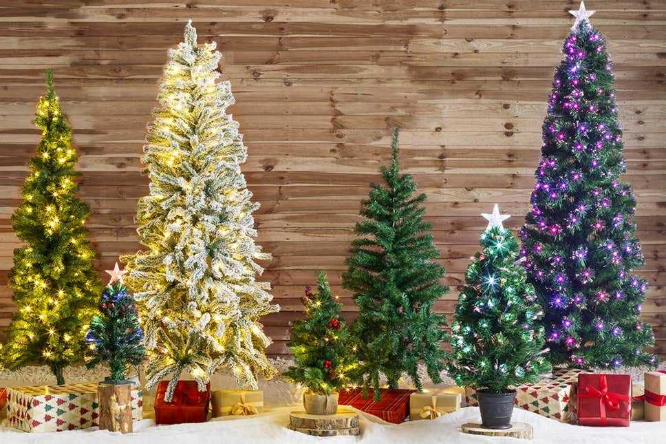 Artificial Christmas trees come in all shapes and sizes, but they are often harmful to our health