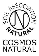 The Soil Association COSMOS Natural certification